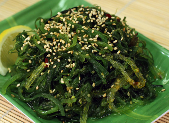 Enjoy delicious seaweed for a hug infusion of detoxifying iodine!