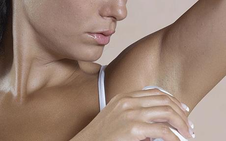 Make sure your daily armpit aroma-absorber is not toxic!