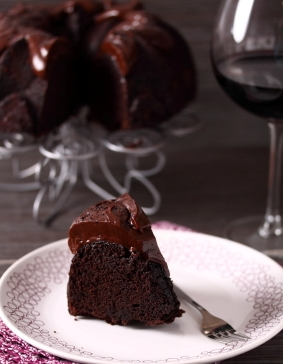 Delicious decadence - wine and chocolate