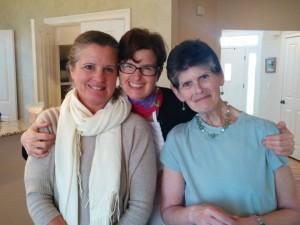 Lisa Tracy and Carla May 2015